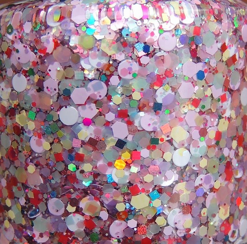 Cotton Candy Glitter Nails: Glitter Lambs: Unicorns Love Cotton Candy Glitter Topper