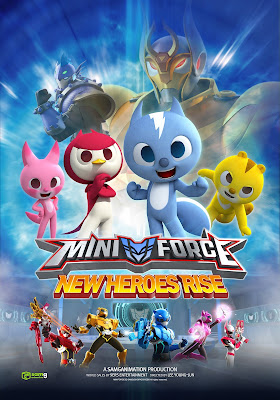 Mini Force New Heroes Rise 2018 Custom HD Dual Latino 5.1