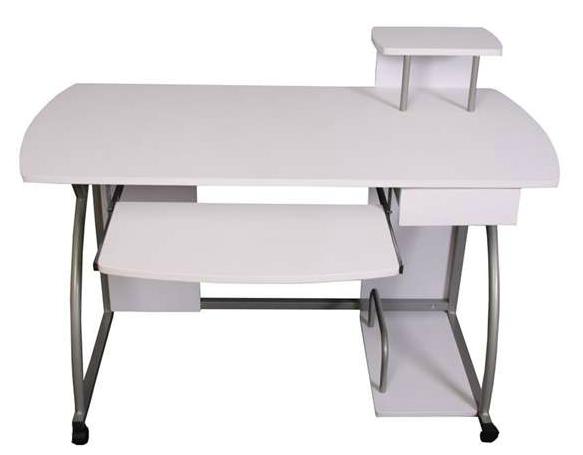 Homy mobiliarios y decoraci n para tu hogar consejos de for Mesa de ordenador blanca