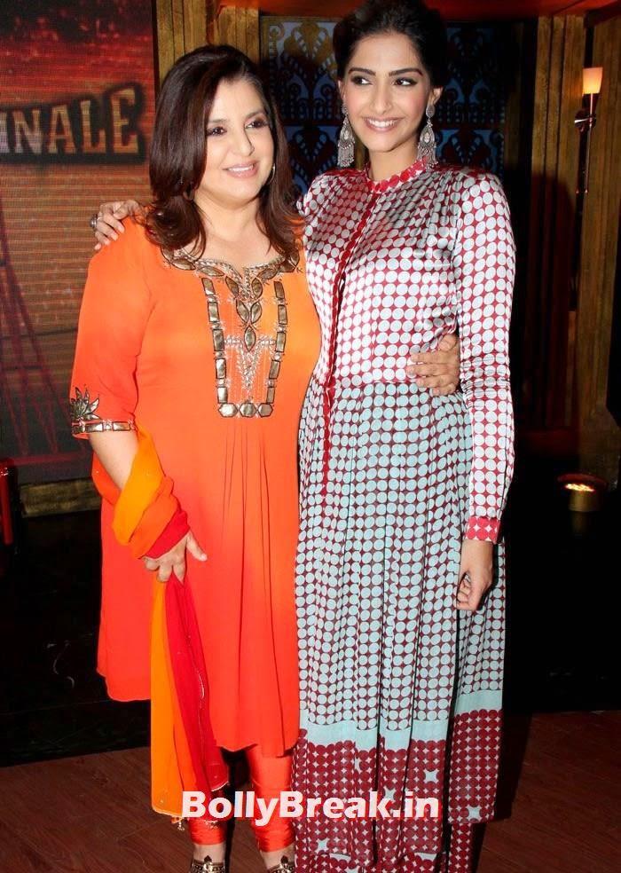 Farah Khan, Sonam Kapoor, Sonam Kapoor in Amazing Dress - Pics from EKLKBK