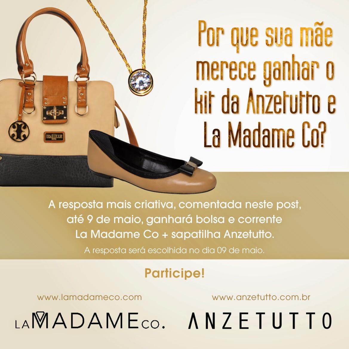 4ee1c7b3f E a Anzetutto, juntamente com a marca de acessórios La Madame Co, oferece a  oportunidade de ganhar um kit perfeito para incrementar a produção fashion  das ...