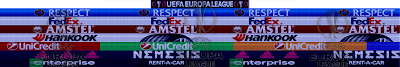 PES 6 UCL & UEL Adboards by Alex Jovis Season 2017/2018