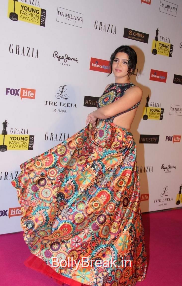 Deeksha Seth images, Deeksha Seth Hot Pics from Grazia Young Fashion Awards 2015