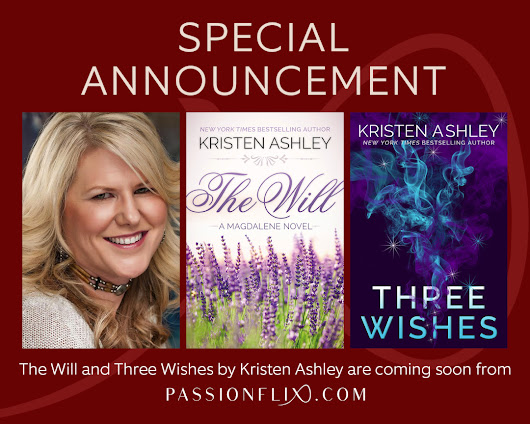 #PassionIsComing with New York Times bestseller Kristen Ashley! I am soooo excited! #Passionflix #ComingSoon #Romance #BookstoMovies #MustSee #MustRead #KristenAshley #SpecialAnnouncement