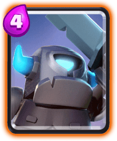 Clash Royale Mini Card PEKKA - Cards Wiki