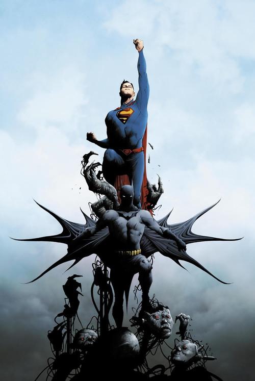 Superman and Batman by Jae Lee