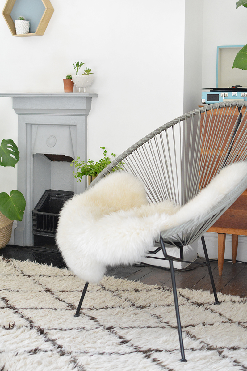At Home Chairs Leather Executive Office Canada Styling An Acapulco Chair Burkatron Interior Design Retro