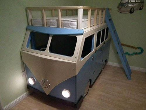 Vw Camper Style Beds Inspiration For Bedroom Bunk Beds