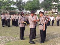 Jabatan Kapolsek Abung Timur Polres Lampung Utara Diserah Terimakan
