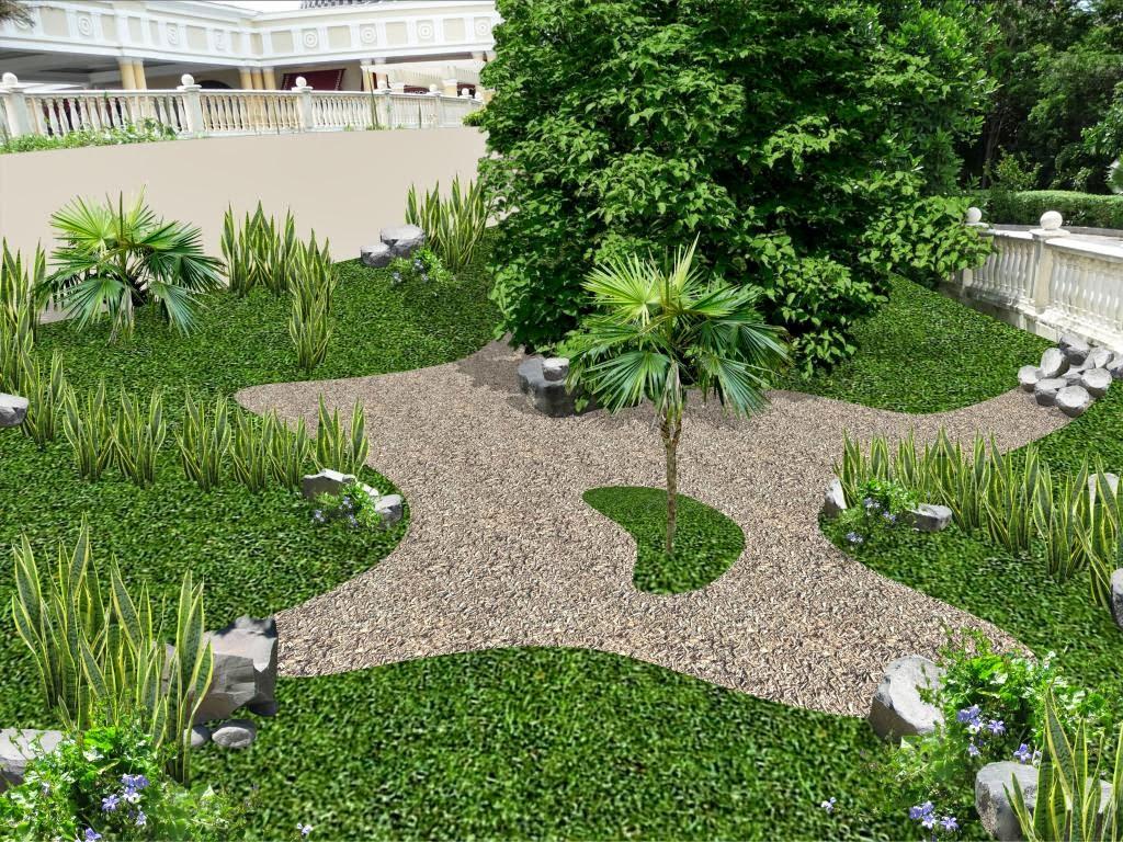 Jardines cl sicos entradas y accesos hotel iberostar for Jardines decorados con piedras