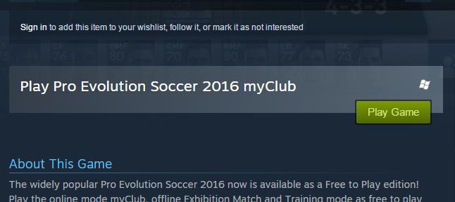 لمحبي ألعاب كرة القدم الحصول مجانا على لعبة pes 2016 01