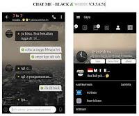 Free Download [BBM MOD] Black And White Apk v3.3.6.51 [BBM CHATME] Terbaru