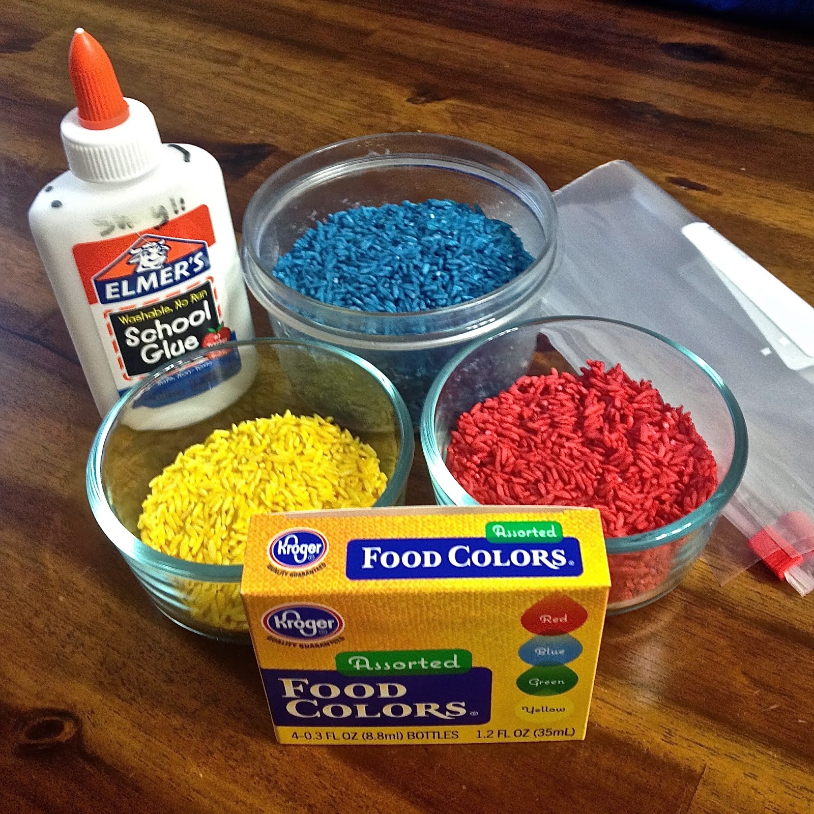 Diary Of A Techie Chick Making Colored Rice