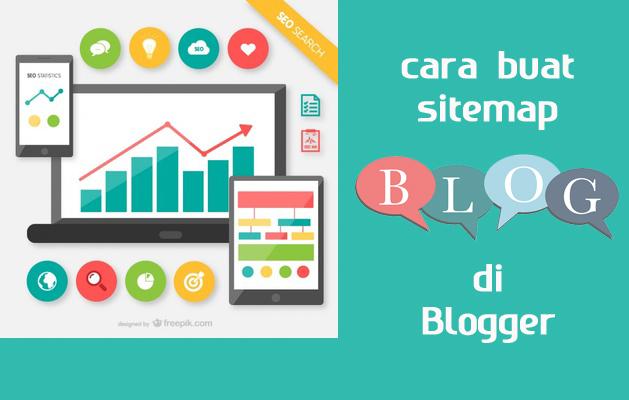 Cara Buat Sitemap Untuk Daftar Isi Blog di Blogger