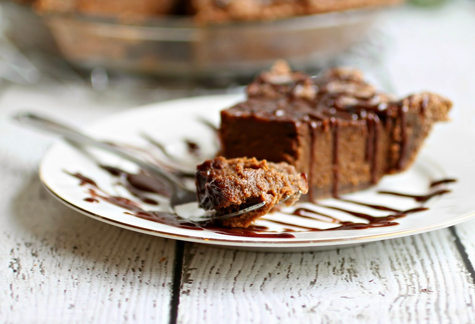Double Chocolate Pumpkin Pie
