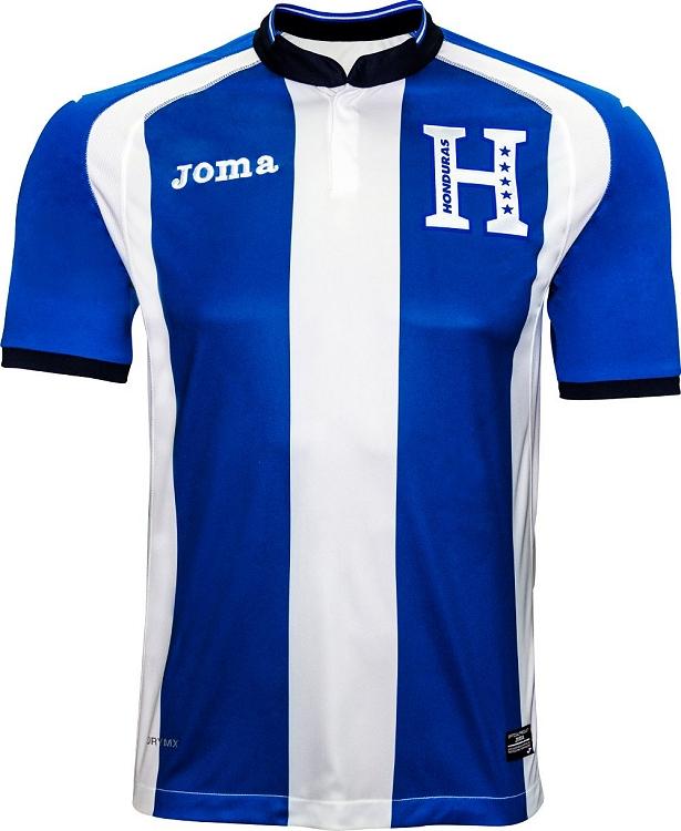 Joma divulga novas camisas da seleção de Honduras - Show de Camisas db8c1429720c1