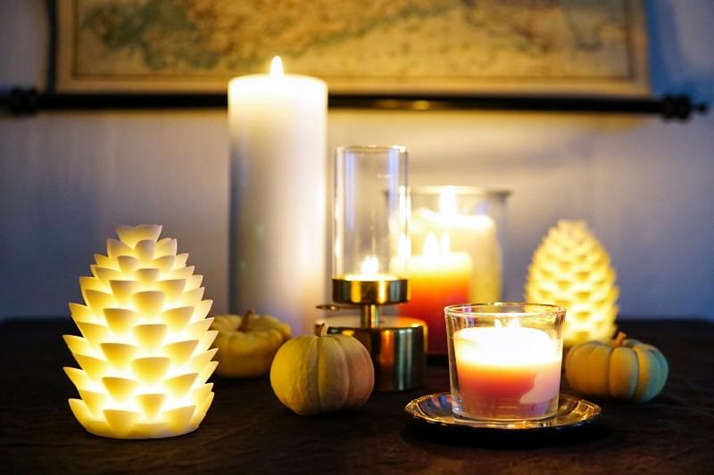 Hygge, kynttilät, syksy, kausivalot, ikea