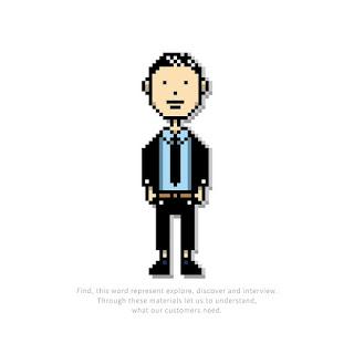 8 - Bits 人物插畫設計