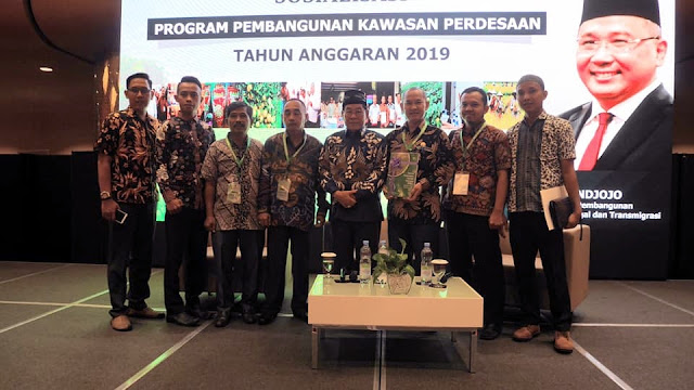 Dirjen PKP Kemendes PDTT Kucurkan Pembangunan Senilai  Rp3,5M Untuk Mesuji