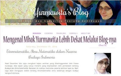 Mengenal Mbak Yurmawita Lebih Dekat Melalui Blog-nya