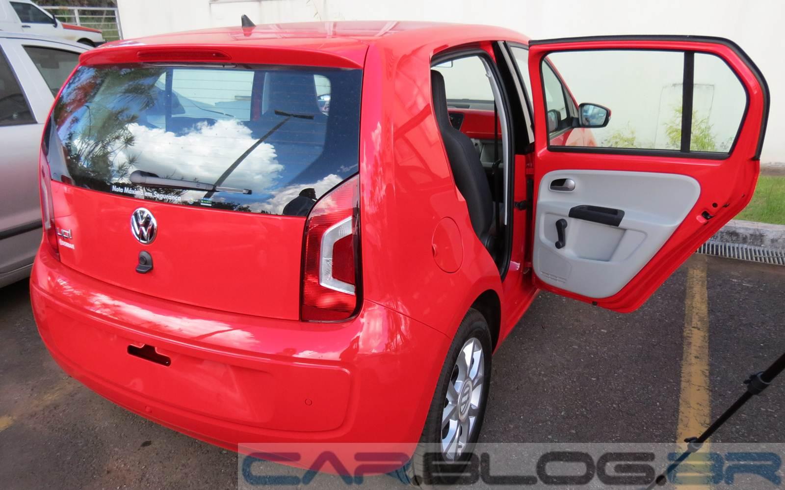 Novo Caro Da Volkswagen >> Volkswagen up! - detalhes do interior em fotos e vídeo   CAR.BLOG.BR