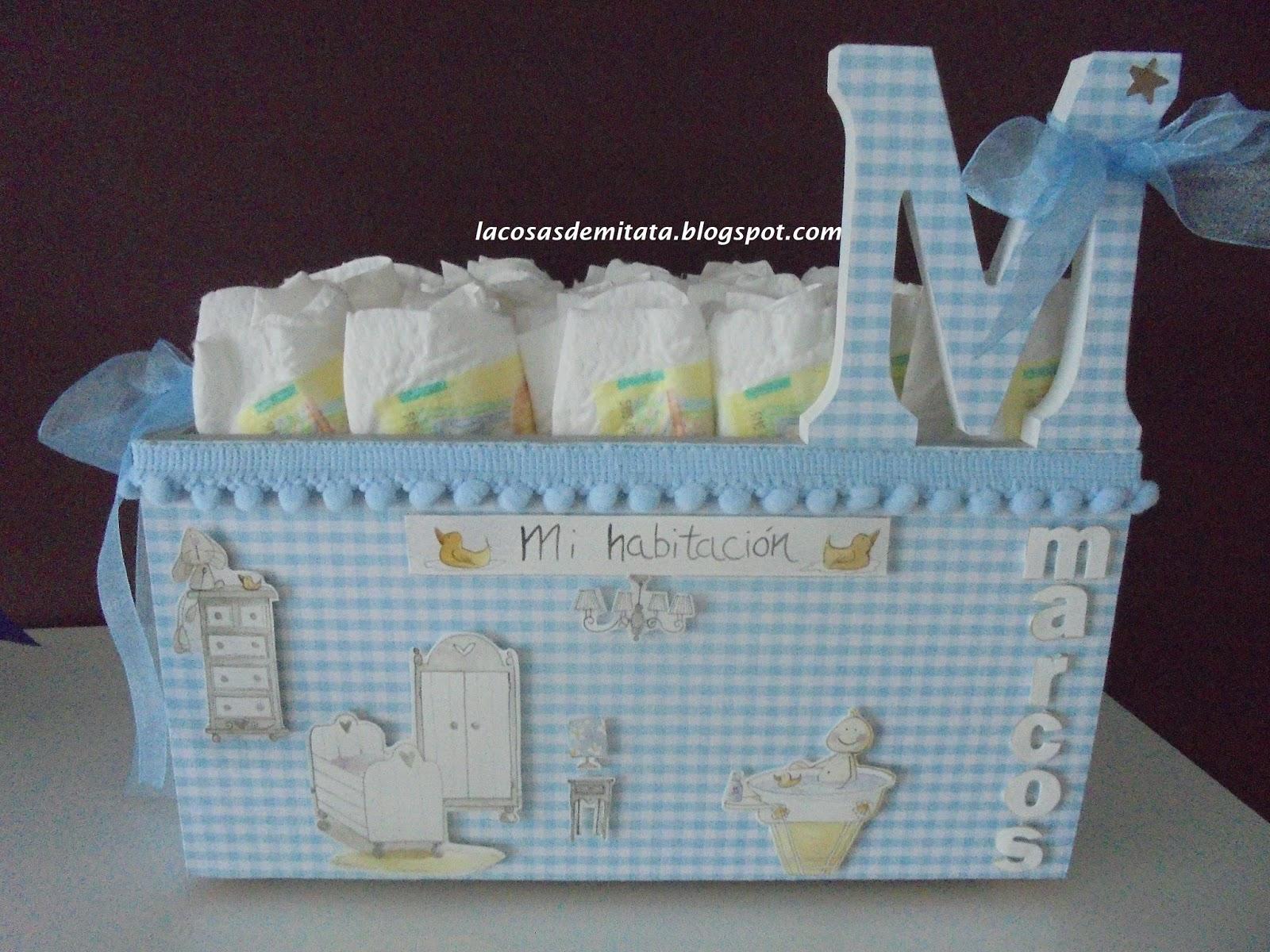 Las cosas de mi tata pa alera lbum de fotos - Cajas decoradas para bebes ...