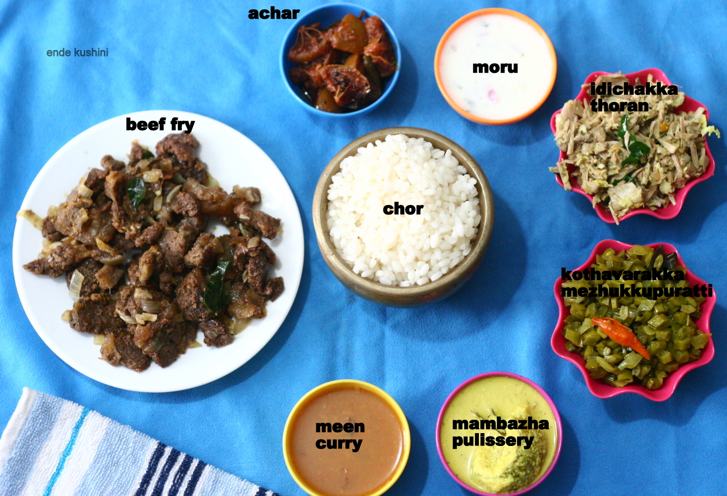 Other Non Veg Fry Item And Ofcourse With A Couple Of Vegetarian Dishes You Can Get The Below Shown Meal For 50 70 Rupees In Small Kerala Restaurants