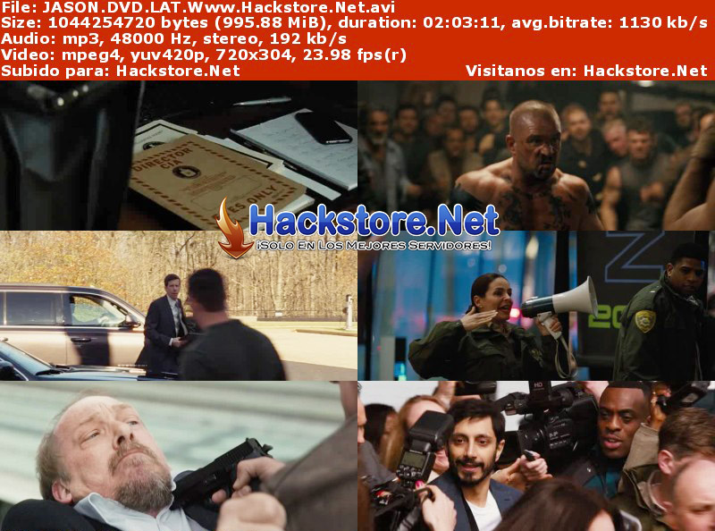 Capturas de Jason Bourne (2016) DVDRip Latino