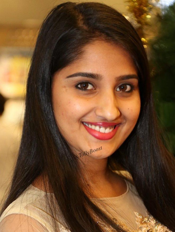 Beautiful Indian Television Girl Meghana Lokesh Face Closeup