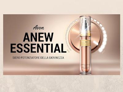 Siero Anew Essential di Avon. Il siero potenziatore della giovinezza. Scoprilo nel Catalogo Avon Online della Campagna in corso. Review recensione Avon