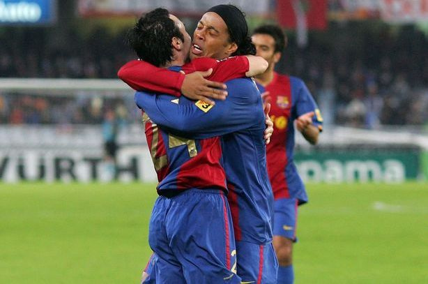 Ronaldinho Barca