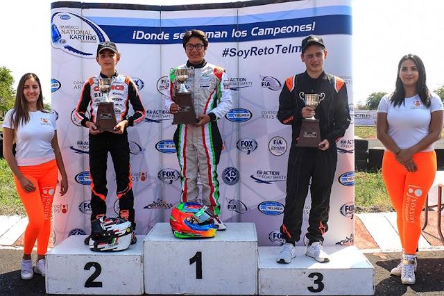 Eloy Sebastián López se lleva el triunfo de FIA RETO TELMEX en Cuautla.