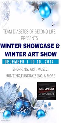 *CHIFFON*,  RUSH,  MCC @ Team Diabetes - Winter Showcase & Winter Art Show