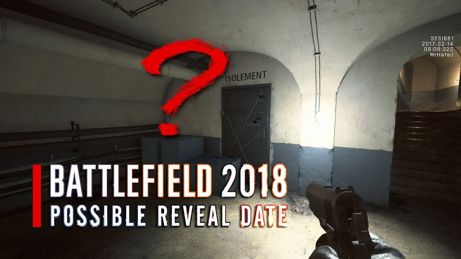 ea battlefield 5 reveal date 2018