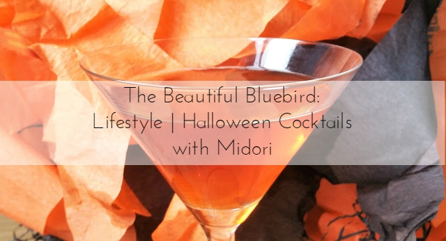 Happy Halloween with Midori, cocktail recipe