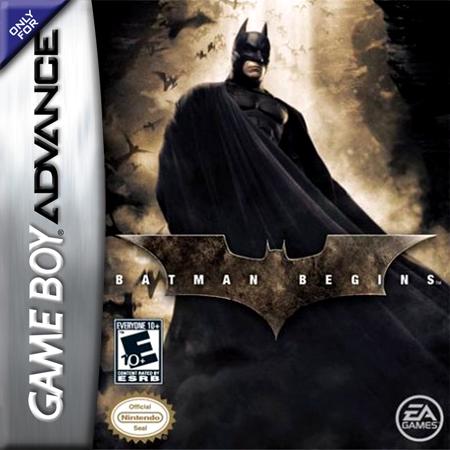 Batman Inicia - Español - GBA - Portada