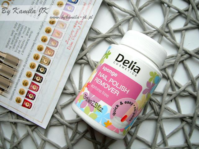 Delia zmywacz do paznokci w gąbce
