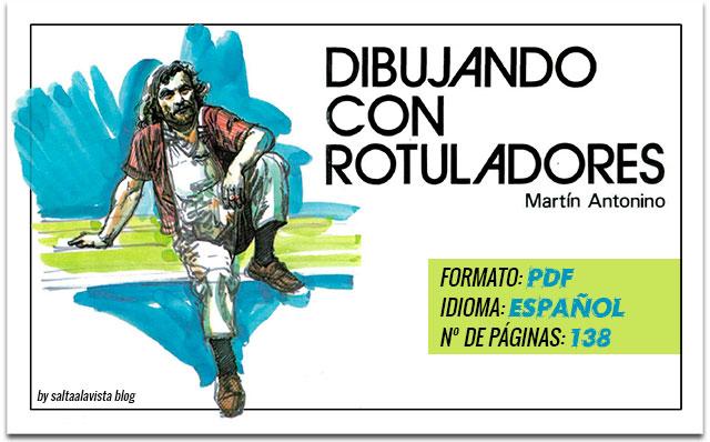 Libro Dibujando con Rotuladores by Saltaalavista Blog