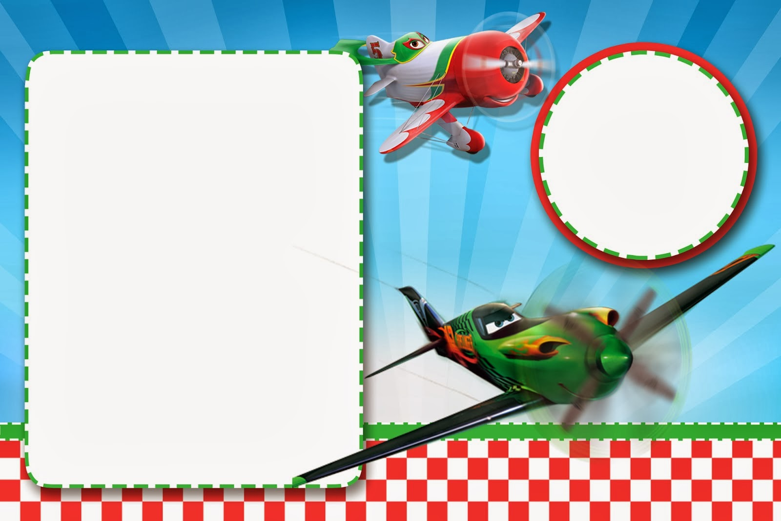 Planes (Disney): Free Printable Cards or Invitations. | Oh My Fiesta ...