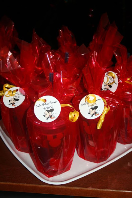 Mickey Mouse Bridal Shower - Favors