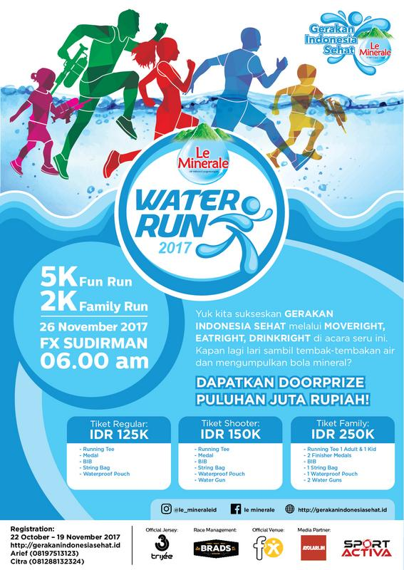 Le Minerale Water Run • 2017