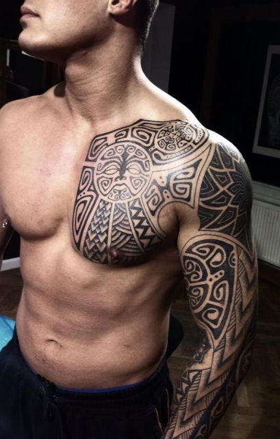 African Tribal Art Tattoos - Tattos For Men