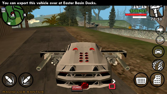 Cars Have Weapons Mod for Android Download from gtaam