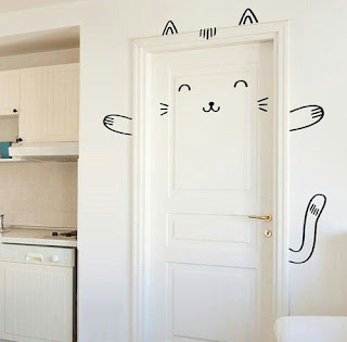 Hiasan Pintu Kamar Unik