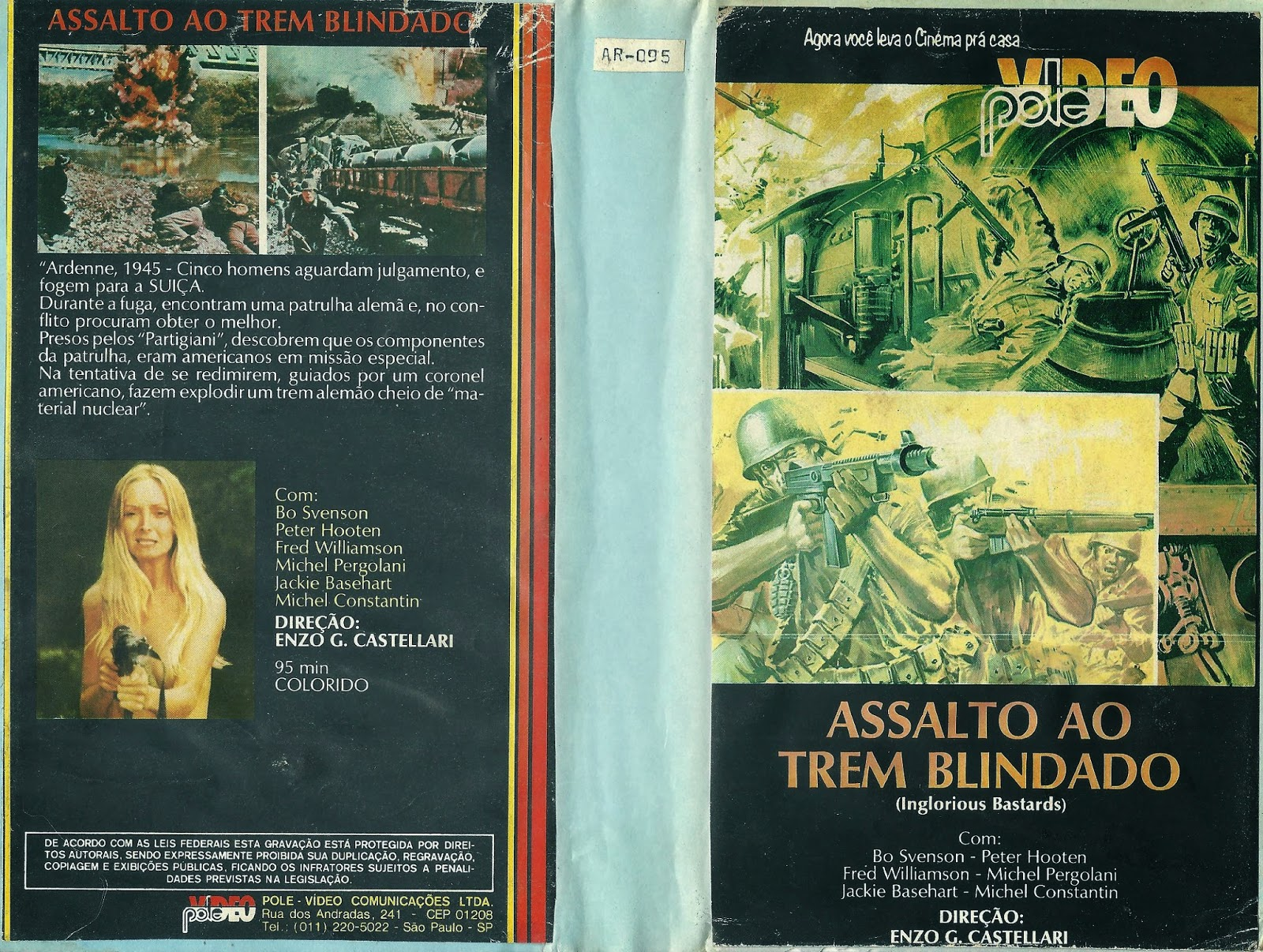 Clube do vhs Mania: ASSALTO AO TREM BLINDADO