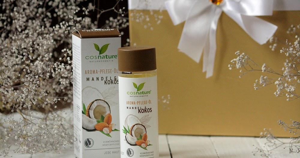 Cosnature, Naturalny aromatyczny migdałowo-kokosowy olejek do pielęgnacji ciała