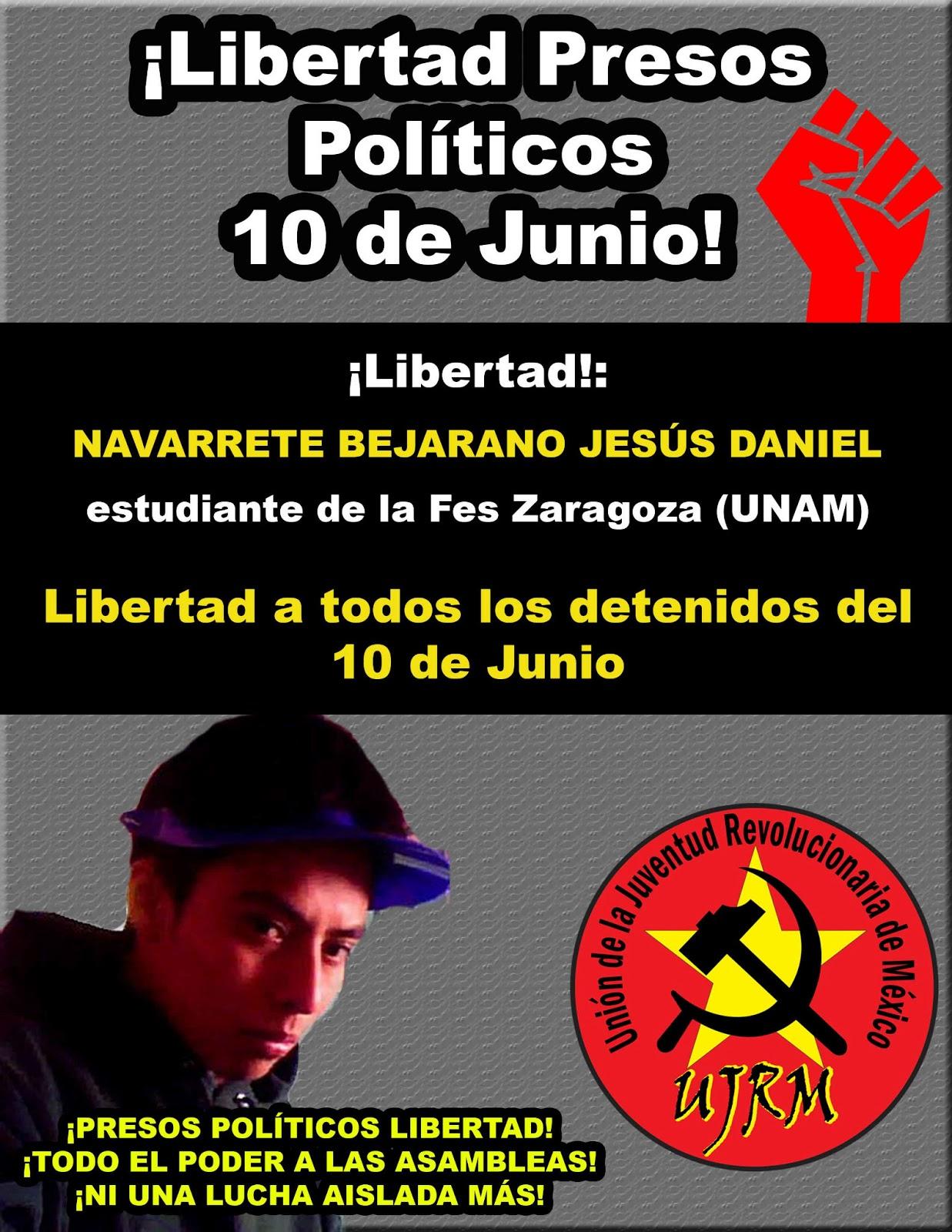 Libertad a los Presos Políticos del 10 de Junio