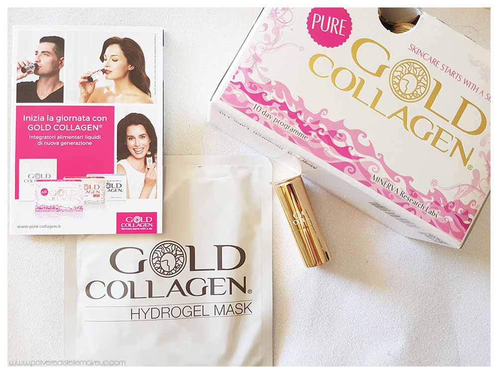 Cofanetto Gold Collagen Pure Beauty in a box