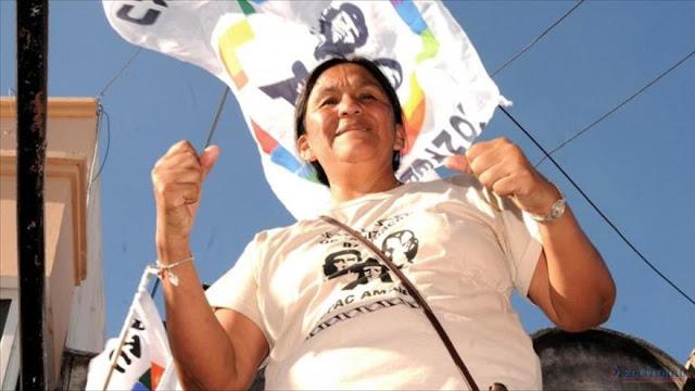 Milagro Sala: Estoy presa por ser kirchnerista y oponerme a políticas de Macri