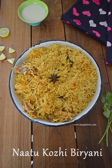 Nattu Kozhi chicken biryani Recipe   Desi Chicken Biryani   Country Chicken biryani